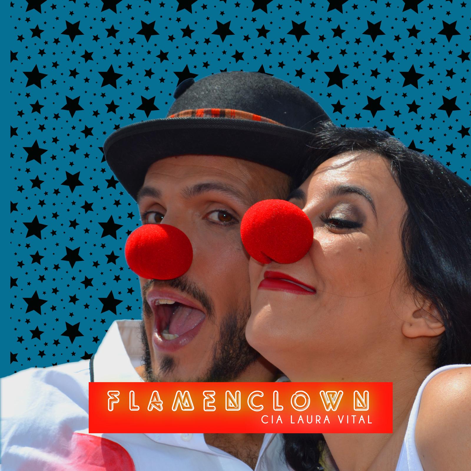 Poster Flamenclown de Laura Vital y Fran Caballero